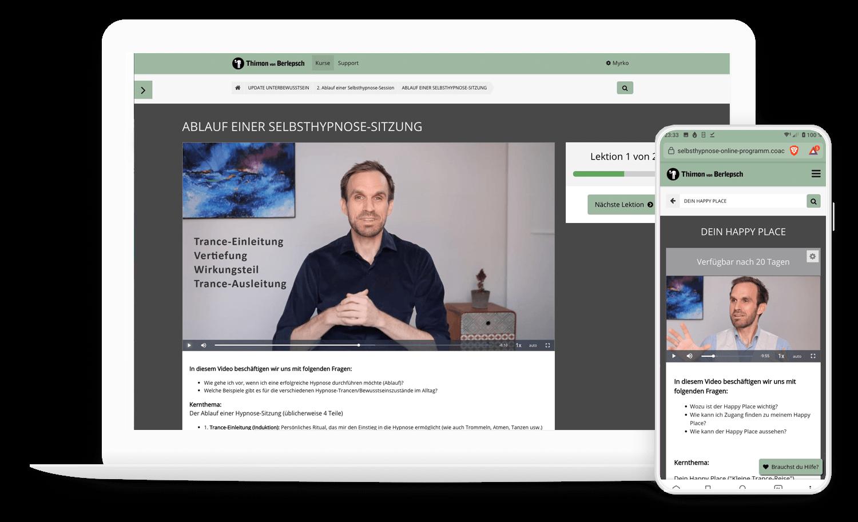 Selbsthypnose-Online-Programm
